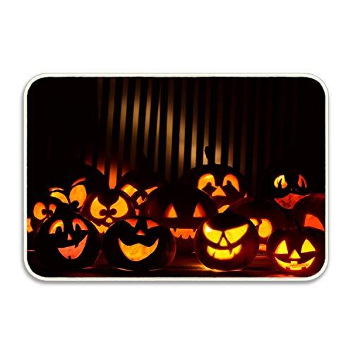 FunnyLife Happy Halloween Welcome Doormat Entrance Mat Floor Mat Rug Indoor/Bathroom Mats Rubber Non Slip