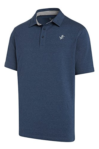 Gear Golf (Jolt Gear Golf Shirts for Men - Dry Fit Cotton Polo Shirt - Includes 20 Golfing Tees)