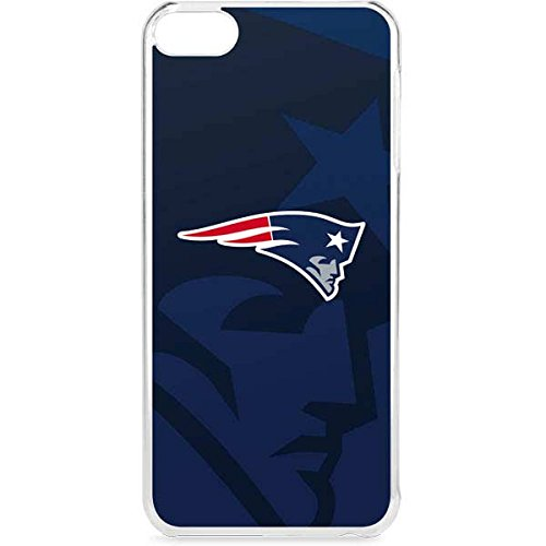Skinit NFL New England Patriots iPod Touch 6th Gen LeNu Case - New England Patriots Double Vision Design - Premium Vinyl Decal Phone -