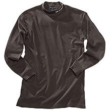 Beretta Men's Long Sleeve Mock Turtleneck, 3X-Large, Black