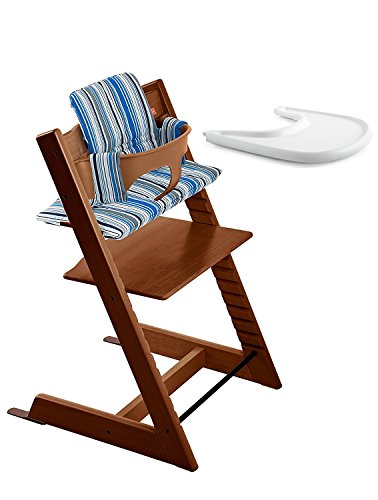 Stokke Tripp Trapp Harness (Stokke Tripp Trapp Bundle Walnut w Ocean Stripes cushion and tray)