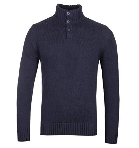 blu Schott navy Blend Collo Wool di imbuto a 6qZOvR