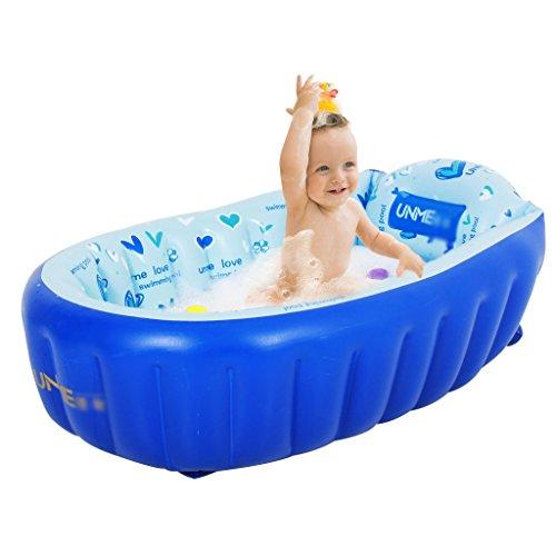 Bañeras para Niños Tina Inflable Grande y Gruesa para el hogar Puede Sentarse en la Inflable bebé