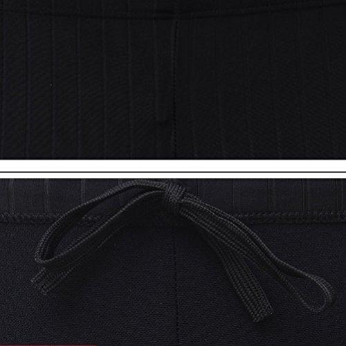 Excelente da Zhuhaitf Moda Fitness nero bagno Costume Pantaloncini Uomo Costumi bagno da Sport dApfw