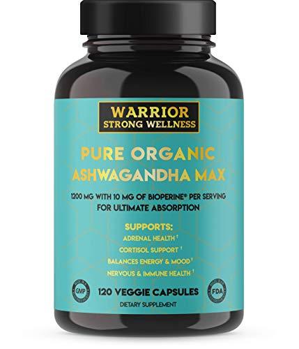 Ashwagandha Bioperine Warrior Strong Wellness product image