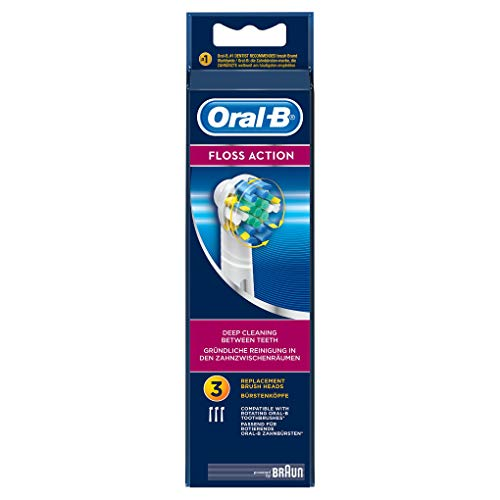 Oral-B Floss Electric Toothbrush Replacement Brush Heads