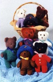 Baby Bears Knit/Felt Pattern (201x)
