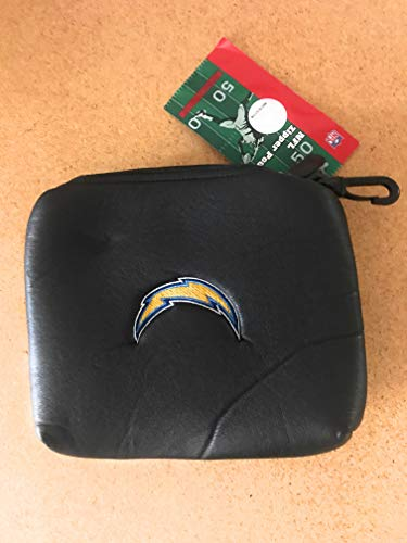San Diego Chargers NFL Zipper Golf Bag Valuables Pouch ()
