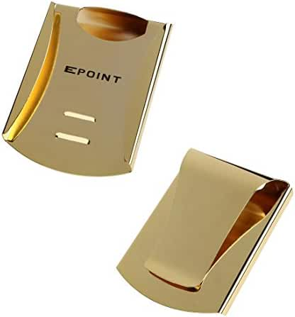EQA07 Stainless Steel Double Money Clip Credit Card Holder Fitted Design By Epoint