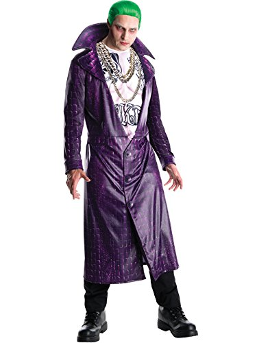 Rubie's Costume Co Men's Suicide Squad Deluxe Joker Costume, As Shown, -