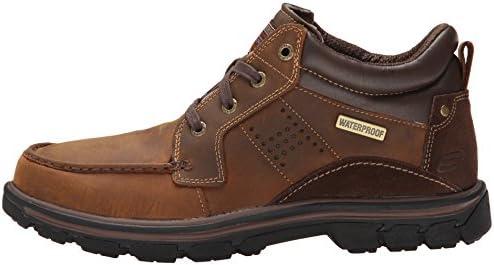 Skechers Men's Segment Melego Leather Chukka Waterproof Boot