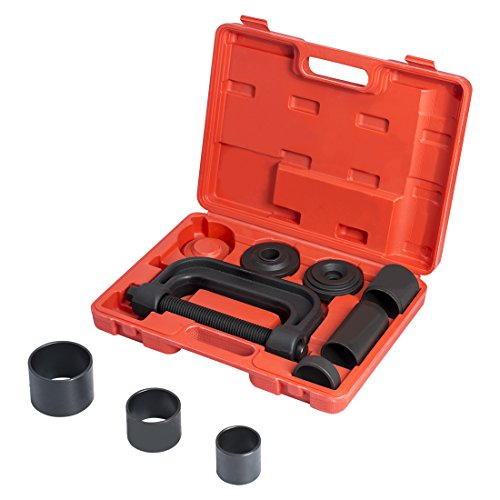 WORKPRO 4-in-1 Ball Joint Service Tool Kit 2WD & 4WD Remover Installer with 4-Wheel Drive Adapters by WORKPRO (Image #3)