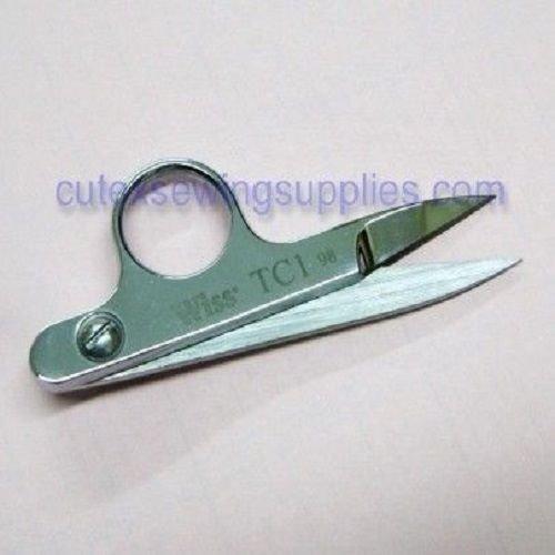 WISS SOLID STEEL SHARP POINT THREAD CLIPPER CUTTER