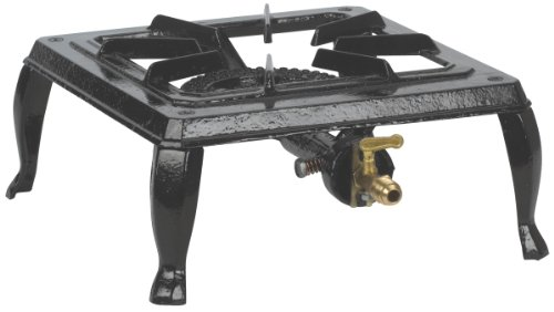 Stansport Single Burner Cast Iron Stove (10x11 Inch)