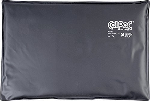 old Therapy, Black Polyurethane, Over-Size Cold Pack (12.5