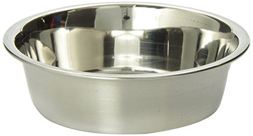 Bergan Stainless Steel Bowl, Heavy Duty Non-Skid, 8 ()