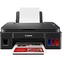 Canon Impresora INALAMBRICA Multifuncional con Tanques DE Tinta Integrados DE FACIL Recarga PIXMA Ink EFFICIENT G3110