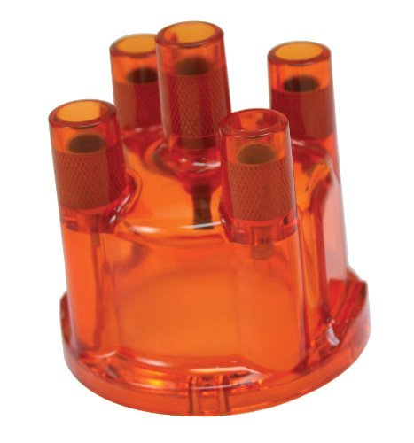 EMPI 8791 DISTRIBUTOR CAP FOR 009, RED, VW BUG, BUGGY, BUS, GHIA, SAND RAIL, BAJA, TYPE 3 by Empi Ghia Distributor