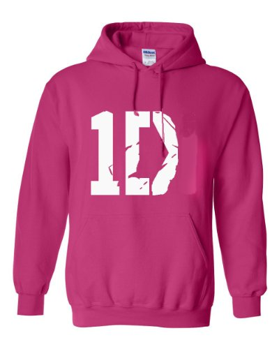 I Love 1D Hoodie In Pink - High Quality By Southern Designs