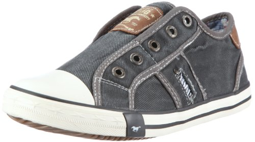 Mustang 5803405, Baskets mode mixte enfant Gris (2 Grau)