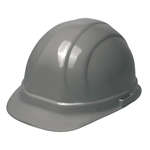 ERB 19305 Omega II Cap Style Hard Hat with Slide Lock, Silver by ERB