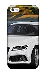 2585913K92088131 Rugged Skin Case Cover For Iphone 5/5s- Eco-friendly Packaging(audi Rs7 10)