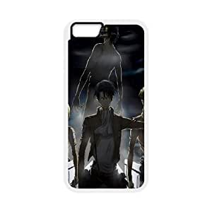 Attack On Titan iPhone 6 6s Plus 5.5 Inch Cell Phone Case White gift pjz003-9439439