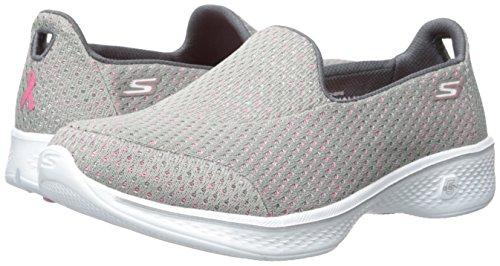 Skechers Performance Women's Go Walk 4 Kindle Slip-On Walking Shoe,Gray/Pink,9 M US by Skechers (Image #6)