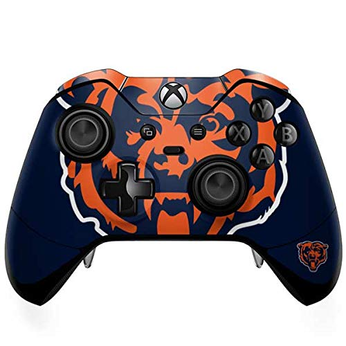 (Skinit Chicago Bears Large Logo Xbox One Elite Controller Skin - Officially Licensed NFL Gaming Decal - Ultra Thin, Lightweight Vinyl Decal Protection)