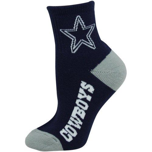 NFL Dallas Cowboys Men's Team Quarter Socks, Medium (Dallas Cowboys Shorts)