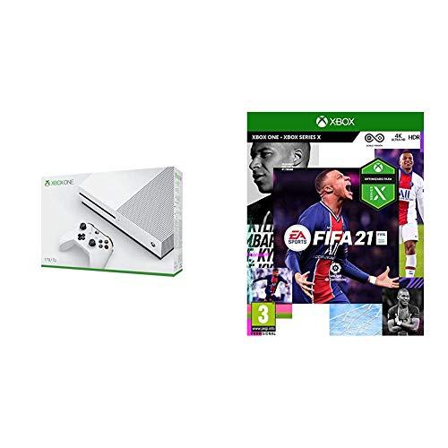 Microsoft Xbox One – Consola de 1TB + FIFA 21 Edición Estándar