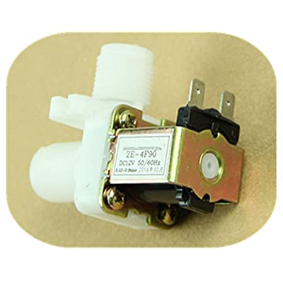 "Feamos New DC 12V Electric Solenoid Valve Magnetic N/C Water Air Inlet Flow Switch 1/2"" from Feamos"
