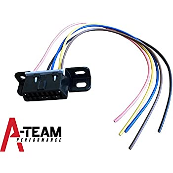 a-team performance obd ii obd2 dash port wire pigtail connector harness  plug in chevy gmc ls lsx ls1 ls2 ls3 ls6 ls7 l92 lq4 lm7 4 8l 5 3l 5 7l  6 0l 6 2l