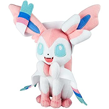 TOMY Pokemon Plush Figure Sylveon 20 cm Peluches