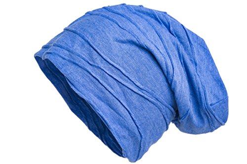 Shenky - Bonnet rond en jersey - bleu clair