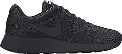 Nike Womens Wmns Nike Tanjun Black Black White Size 10.5