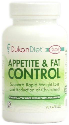 L'appétit de régime Dukan et Fat Control - 90 Capsules