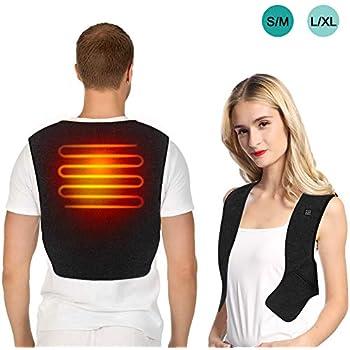 Amazon.com: Electric Heated Vest Vinmori Washable Size
