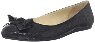 Kate Spade New York Women's Felix Ballet Flat,Black Starlight,5.5 M US