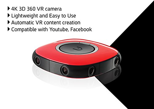 Vuze - 3D 360° 4K VR Camera - Red | Product US Amazon