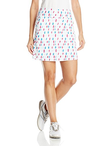 - Cutter & Buck Women's Moisture Wicking, UPF 50+, Pull-on Anna Printed Knit Skort, Multi M