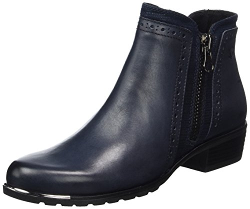 Blau CAPRICE 25403 880 Stiefel Damen qwFwtR