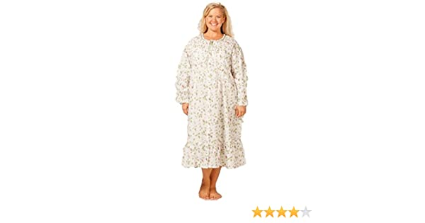 d1cbcc531f9 La Cera Women s Plus Size Long Sleeve Cotton Robe at Amazon Women s  Clothing store