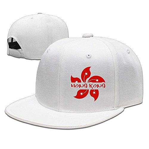 ssee-unisex-hong-kong-adjustable-hip-hop-caps-white