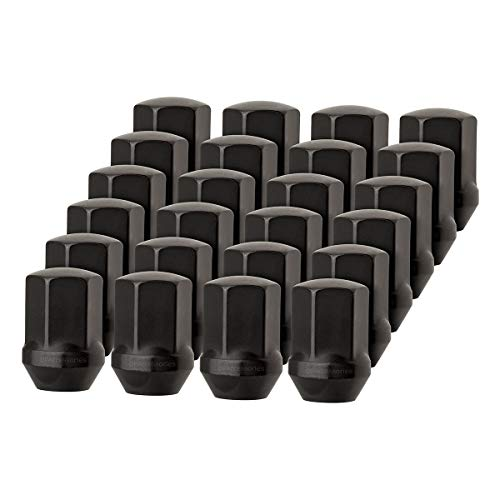 DPAccessories LCB3D8HEOBK04024 24 Black Lug Nuts for Chrysler 300 Dodge Charger Challenger - Replaces 6509422AA Wheel Lug Nut
