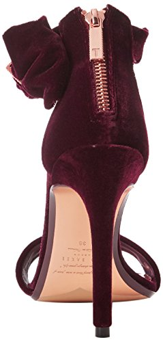 Torabel Heels Ted Women's Baker Ankle Strap Burgundy Red 11Xw7q