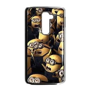 Cute Cartoon Minions Phone Case for LG G2