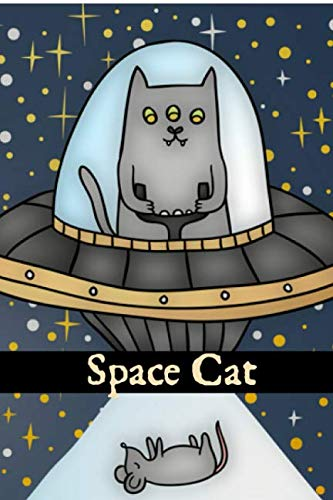 Space Cat: A Blank Lined Journal For Cat Lovers