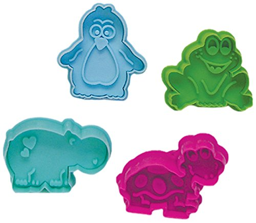 """UPC 768545004890, R & M International 489 Pastry/Cookie/Fondant Stamper, 3-Inch, Animal Collection """"B"""""""