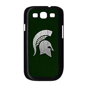 (BZOV) Michigan State Samsung Galaxy S3 9300 Cell Phone Case Black